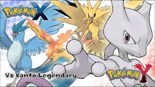 Repeat youtube video Pokémon X/Y - Vs Kanto Legendary Music HD (Official)