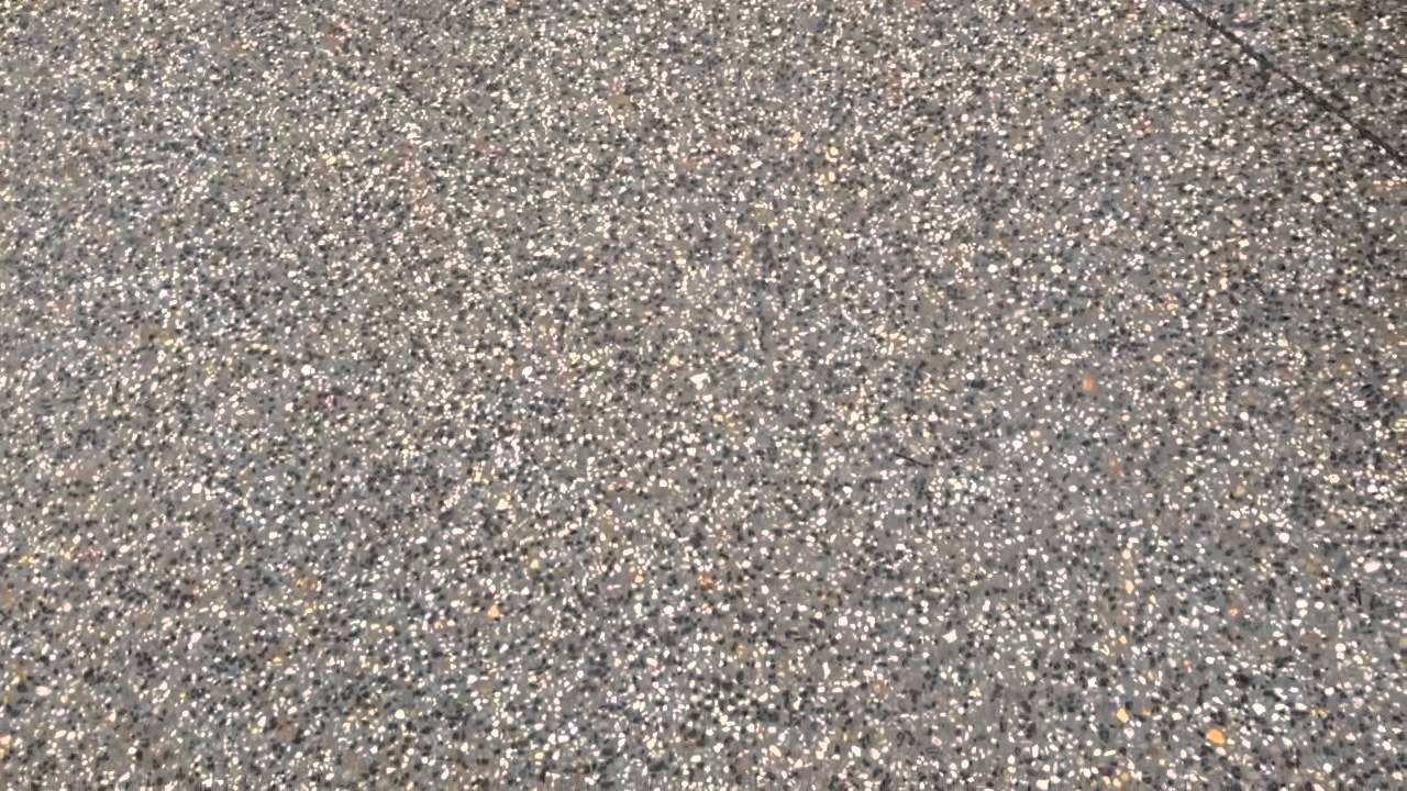 Exposed Aggregate Concrete Driveway Youtube