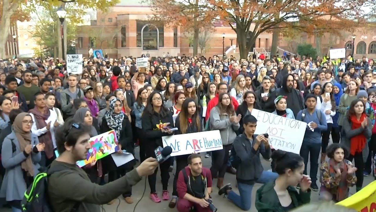 Rutgers Students Rally for 'Sanctuary Campus'