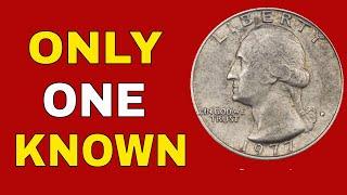 Super rare quarter worth money! 1977 D quarters you should look for!