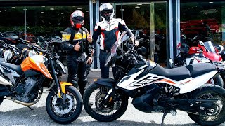 John #Essai KTM 790 Adventure et Duke // Une cure de vitamines!!