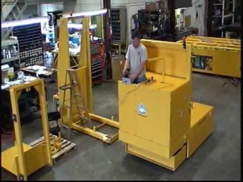 Titan Mold Transporter 2892: 30,000 lb Capacity