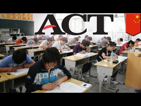 ACT test cheats: Rampant cheating on ACT college entrance exam in China and Korea - TomoNews