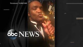 Man arrested for stealing Oscar winner's statue