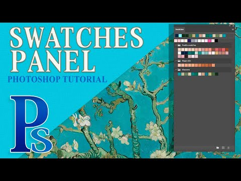 How To Use The Swatches Panel In Photoshop CC 2020