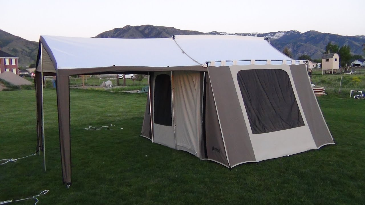 & 6133 Kodiak Canvas Cabin Tent Demo - YouTube