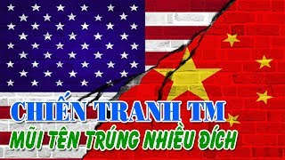 Cuộc chiến thương mại Mỹ - Trung Một mũi tên nhắm nhiều đích