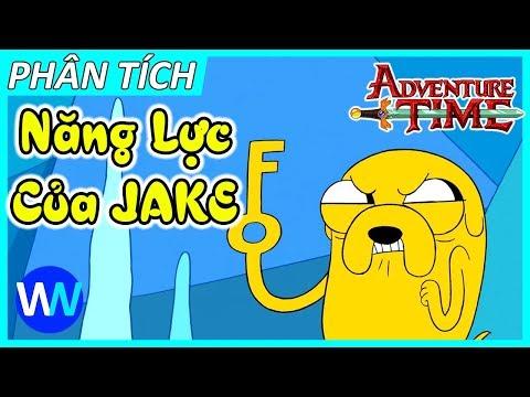 Adventure Time - Năng lực bá đạo của Jake | Jake's Power
