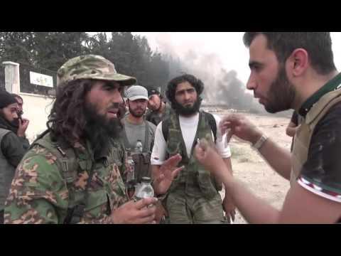 Syrian War - Syrian Reporter interview Jaish al-Fatah Terrorist Group
