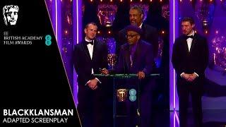 BlacKkKlansman Wins Adapted Screenplay | EE BAFTA Film Awards 2019