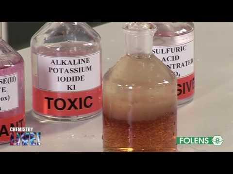 18. Dissolved Oxygen (Winkler)
