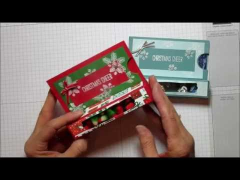 Christmas Cheer Treat Gift Card Box