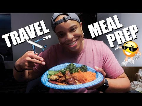 TRAVEL MEAL PREP | COOKING IN MY HOTEL ROOM