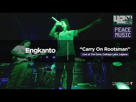 O-Shen - Carry On Rootsman (Live Cover by Engkanto w/ Lyrics) - 420 Philippines Peace Music 6