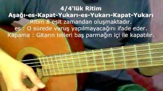 Gitar Dersi - Ritim Atma (4/4'lük Ritim - 4)
