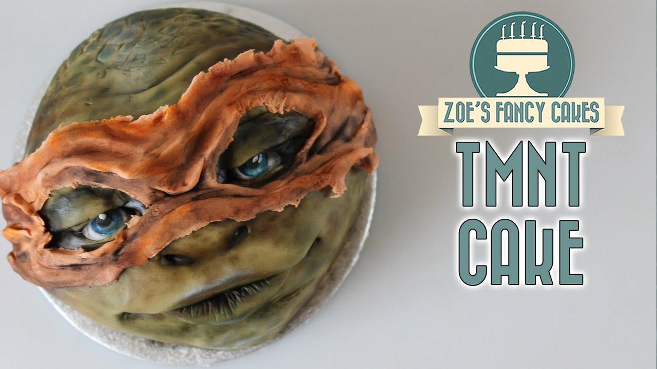 Teenage Mutant Ninja Turtles Cake Michelangelo Tmnt Movie Cakes