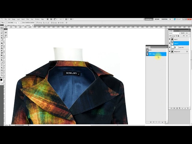 Neck Joint Service / Ghost Mannequin effect in Photoshop