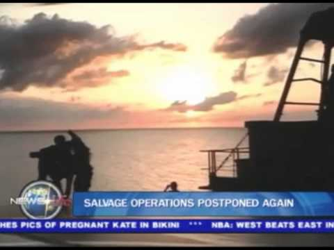 Salvage operations postponed again