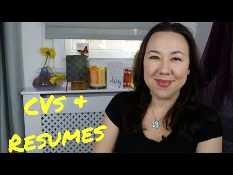 A Biology Lecturer's Pro-Tips On Updating Or Creating Your CV / Resume
