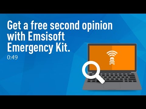 Get a free second opinion malware scan with Emsisoft Emergency Kit