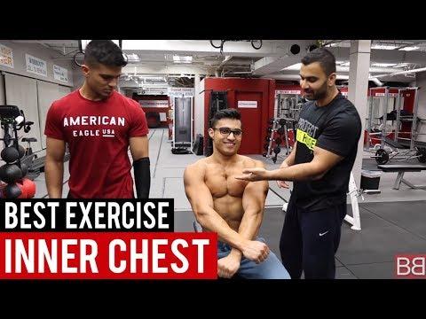 Best Exercise for INNER CHEST MUSCLES! (Hindi / Punjabi)