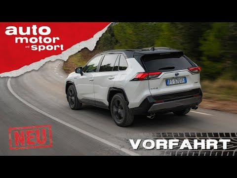 Der neue Toyota RAV4 (2019): Ohne Diesel zum Erfolg? Review/Fahrbericht | auto motor und sport