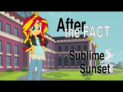 After the Fact: Sublime Sunset