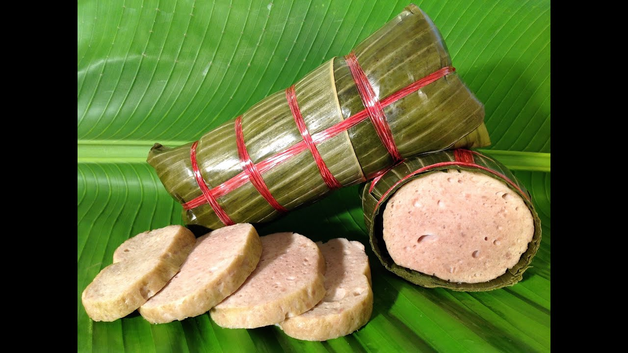 Vietnamese Pork Roll Ham Cha Lua Vietnamese Food Recipes