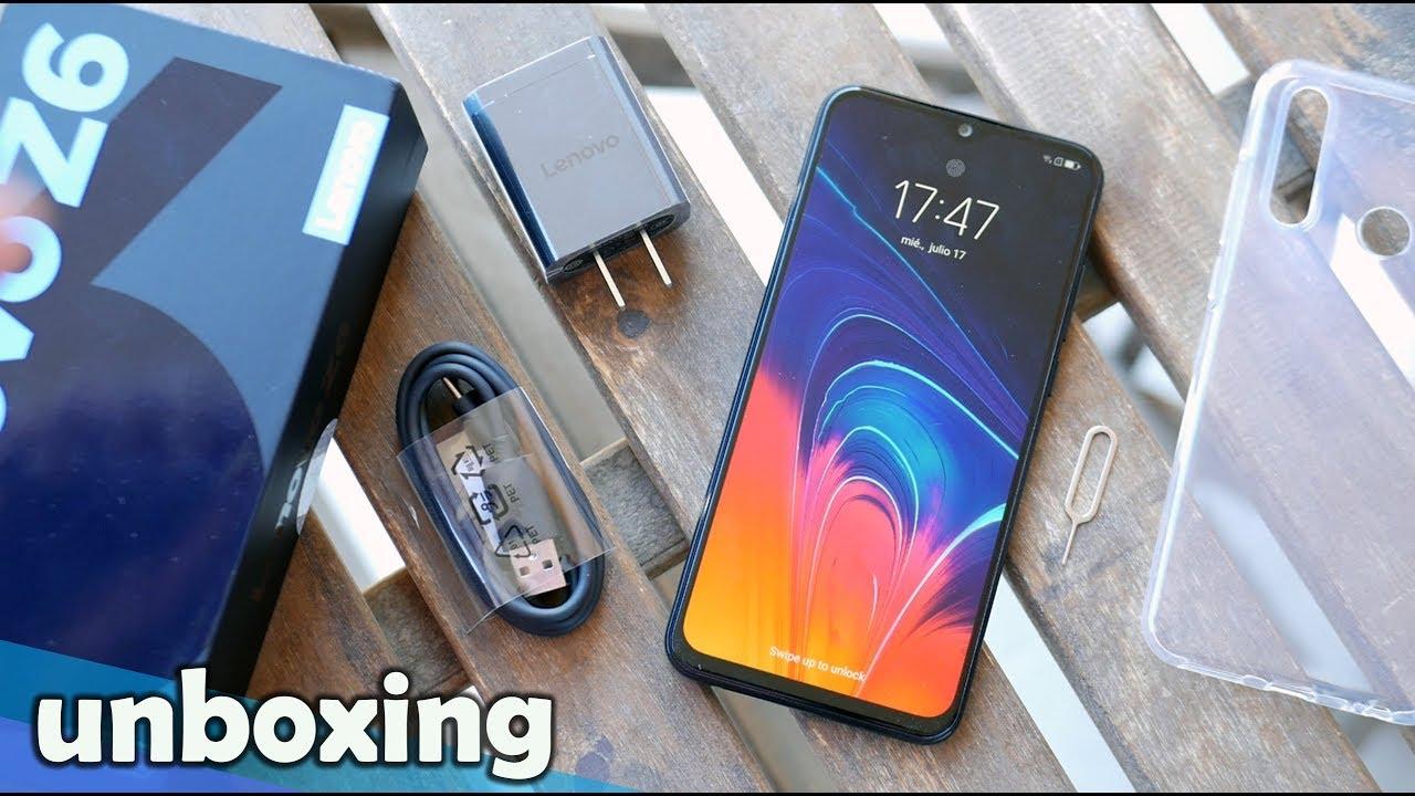 Este móvil se ríe del resto en la GAMA MEDIA con este PRECIO, Lenovo Z6 LITE | Unboxing