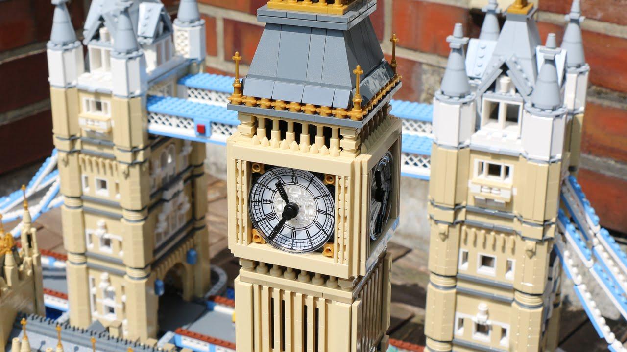 LEGO Creator Big Ben (10253) & Tower Bridge (10214) on display! - YouTube