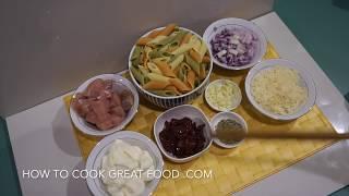 Easy Chicken Cream Pasta Recipe - Super Simple