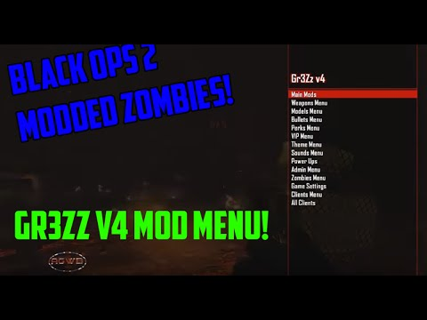 Call Of Duty Black ops  2 Zombie Mods   Gr3Zz v4 Xbox 360   Download