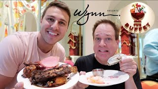 Wynn Buffet Las Vegas TOP 3 BUFFET? (Ft. All You Can Vegas)
