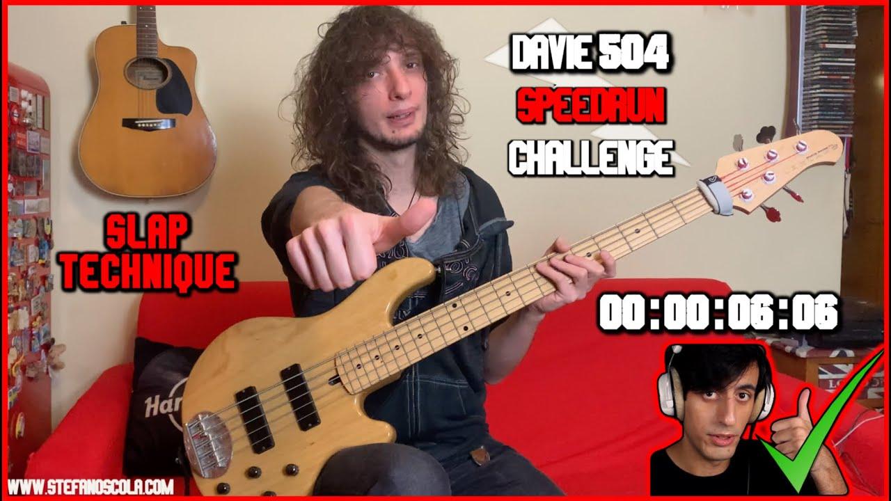 Stefano Scola | 6.06 s | Davie504 Bass Speedrun Challenge#Bassspeedrun
