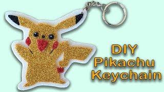 How to make Pikachu (Pokémon) Keychain   DIY Pikachu (Pokémon) Keychain   Sneha's Craft