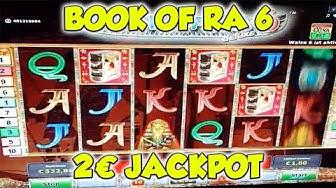 Book of Ra 6 JACKPOT auf 2€ - Freispiele Novoline Online Casino HD
