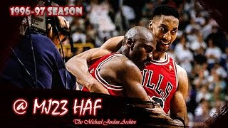 michael jordan the flu game highlights 1997 finals g5 vs jazz 38pts hd 720p 60fps