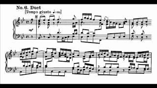 """J. S. Bach - Cantata BWV 140 - Duetto """"Mein Freund ist mein"""""""
