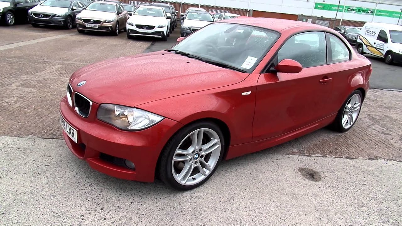 Bmw 123d Coupé : bmw 123d m sport coupe manual diesel red youtube ~ Medecine-chirurgie-esthetiques.com Avis de Voitures