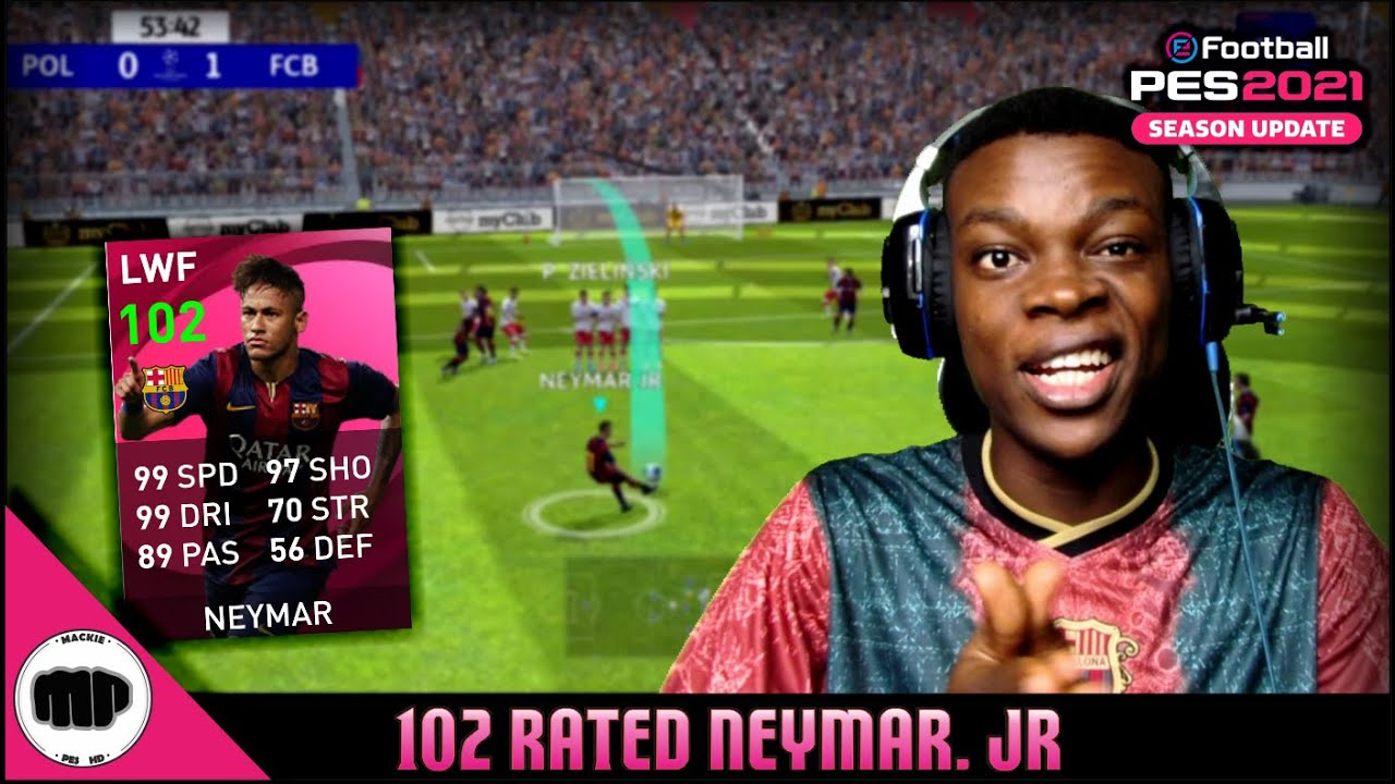102 RATED ICONIC MOMENT NEYMAR OVERRATED OR OVERPOWERED