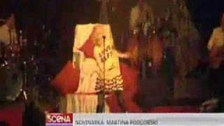 Jelena Rozga - Koncert u Zadru (Scena