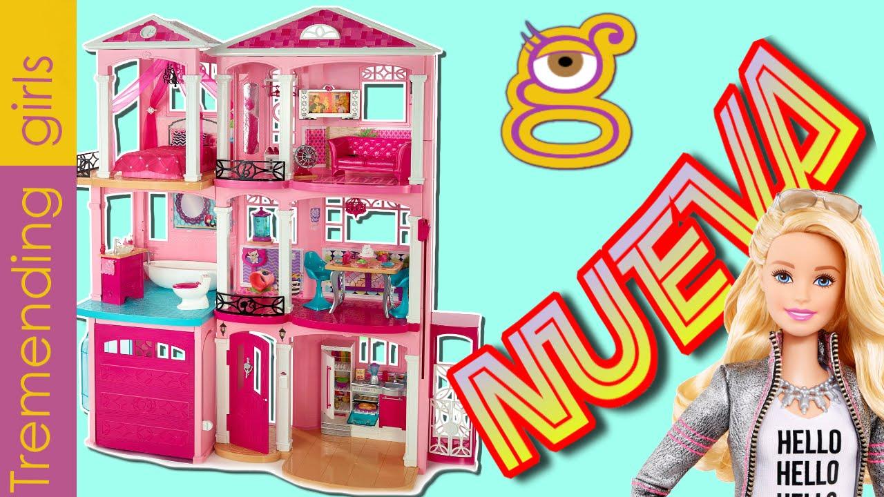 Barbie dreamhouse 2015 nueva casa de los sue os de tres pisos juguetes barbie en espa ol toys - La casa de barbie de juguete ...