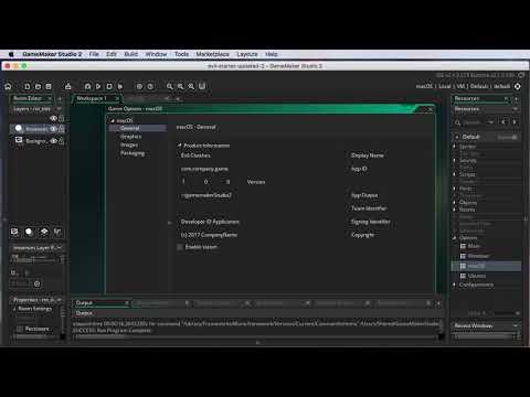 Game Maker Studio 2: Mac Fixes