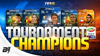FIFA 15 | TEAM OF THE SEASON SQUAD BUILDER! w/ INSANE SERIE A PLAYERS!
