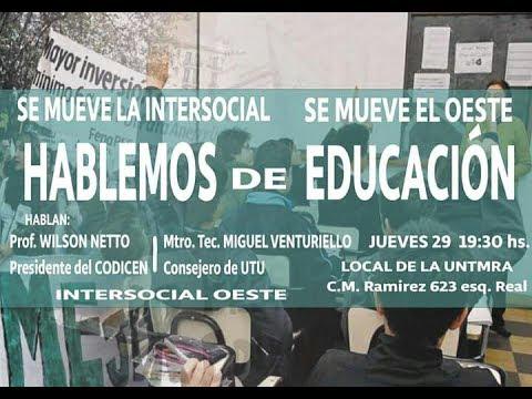 PIT-CNT Hablemos de Educación Zonal Oeste  7-7-2017
