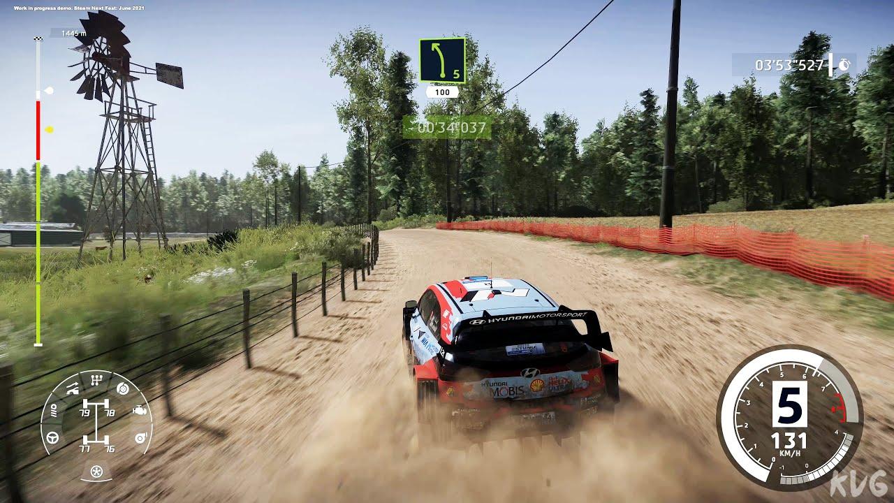 WRC 10 FIA World Rally Championship Gameplay (PC UHD) [4K60FPS] - YouTube