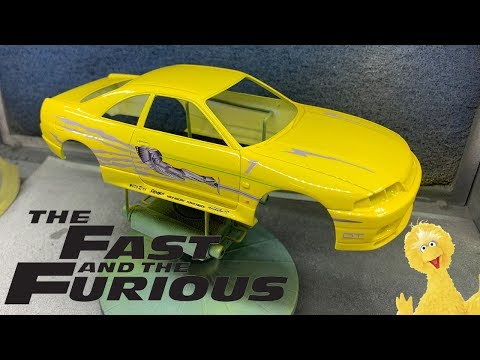Tamiya/USCP: Nissan Skyline R33 GT-R The Fast and The Furious ''Big Bird""