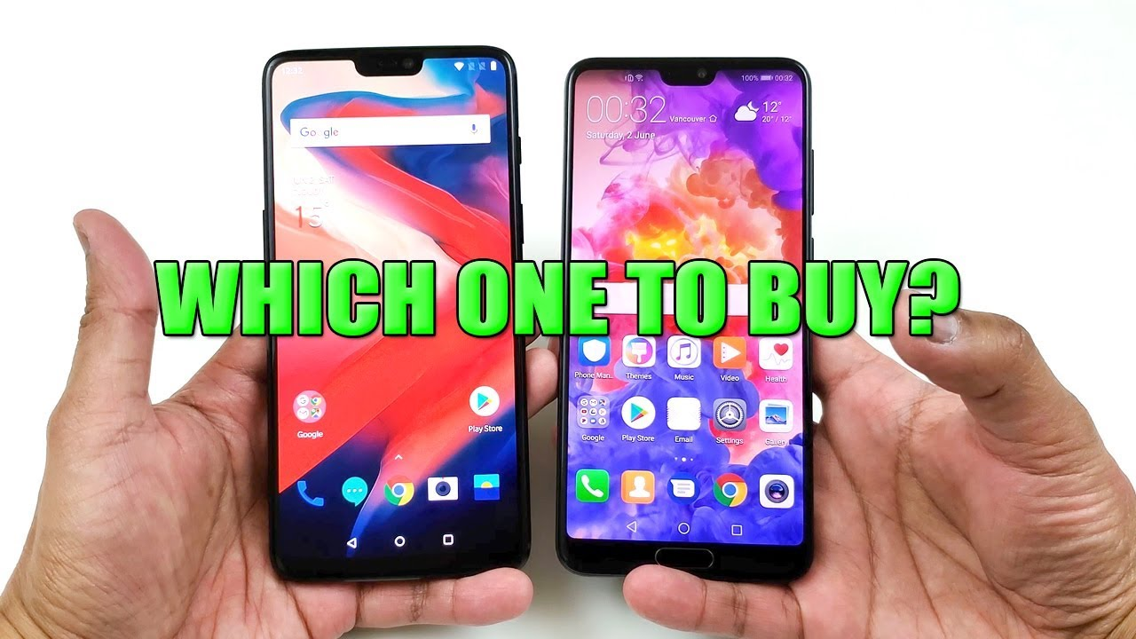 OnePlus 6 vs Huawei P20 Pro Quick Speed Test On The Spot! (WHICH ONE TO  BUY?) [4K]