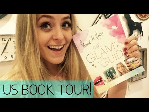 US Book Tour: ALL THE DETAILS!