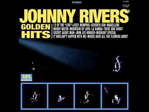JOHNNY RIVERS GOLDEN HITS (Full Album) 16. Blue Suede Shoes Stereo ''Bonus Track'' 1973